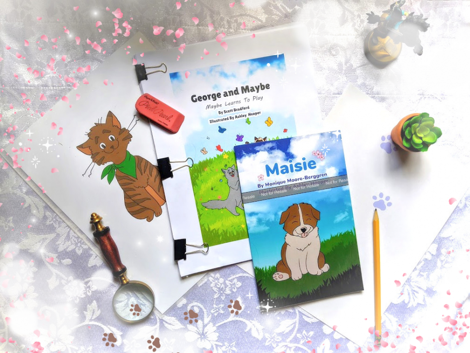 Picture of books made by Smiling Cat Media