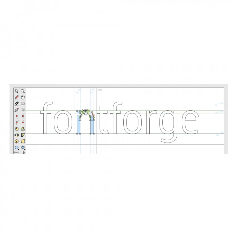 Getting started in FontForge!