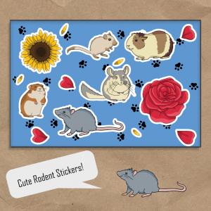 Rodent Sticket Set